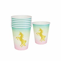 Talking Tables Unicorn Party Supplies | Unicorn Paper Cups | Great For G... - $11.52