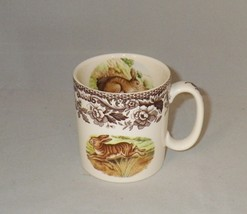Spode Woodland Rabbit Coffee Mug Made in England - $24.00