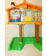 Nick Jr Go Go Diego Talking Animal Rescue Center Treehouse Playset Safari  - $49.95