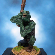 Painted Classic Miniature Ral Partha Ogre with Club - $38.07