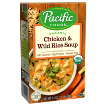 Pacific Foods Organic Chicken & Wild Rice Soup 17 oz ( Pack of 3 ) - $29.69