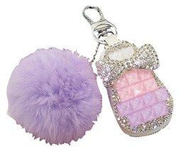 Cute fur ball Car Key Case Key Sets Key Cases Key Holder Key Chain Sets