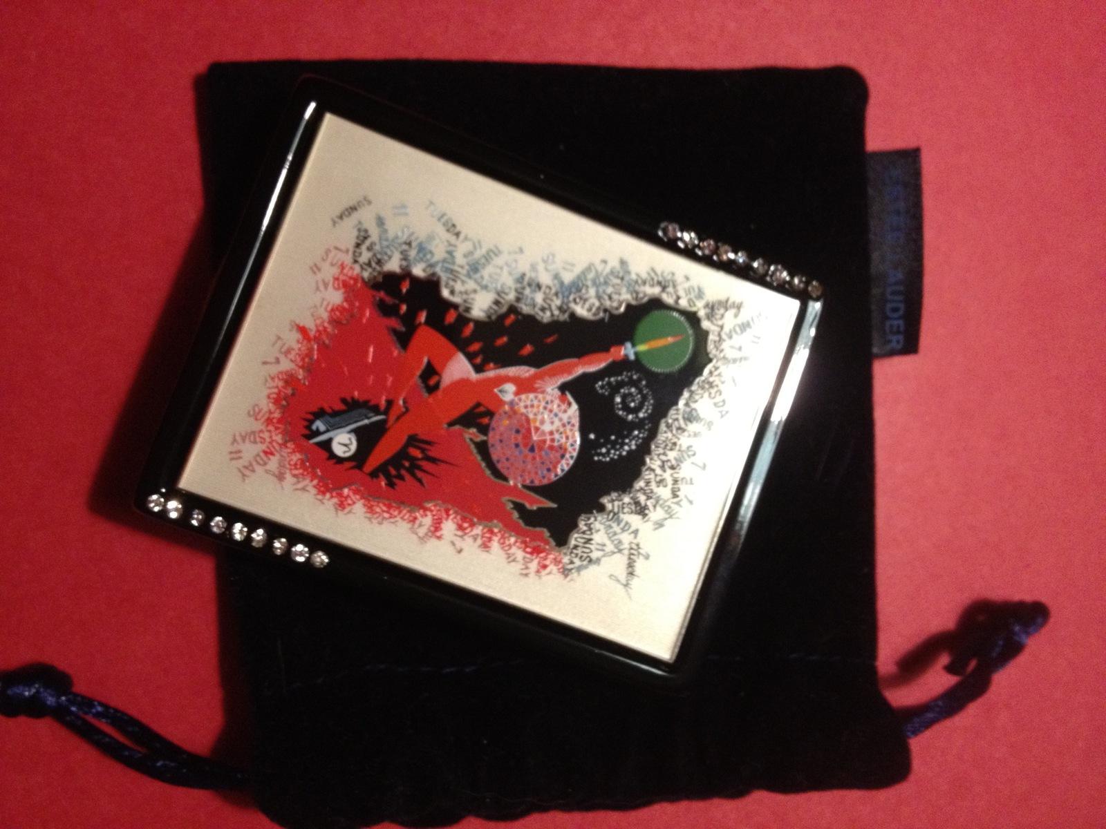 Estee Lauder ARIES ERTE ZODIAC Collection Powder Compact 2004 - FREE SHIPPING