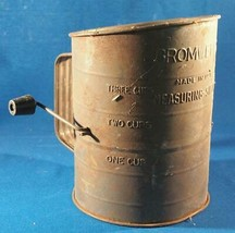 Vintage Bromwell's 3 Cup Flour Sifter - $9.89