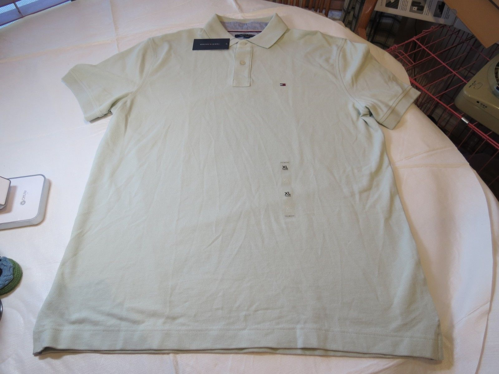 80c72a4488ff65 Tommy Hilfiger Mens Polo Shirt Short Sleeve and 50 similar items. S l1600