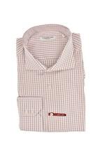 Poggianti 1958 Herren Karo Langarm Shirt Dünn Mehrfarbig Größe XXL - $93.83