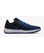 MEN'S NIKE VARSITY COMPETE TRAINER SHOES black gym blue AA7064 004 - $46.58