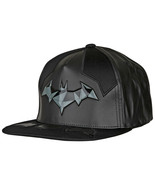 The Batman Armor Costume Flat Brim Adjustable Hat Black - $29.98