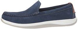 Cole Haan Men's Boothbay Slip ON Loafer, Marine Blue Nubuck, 10 Medium US image 5