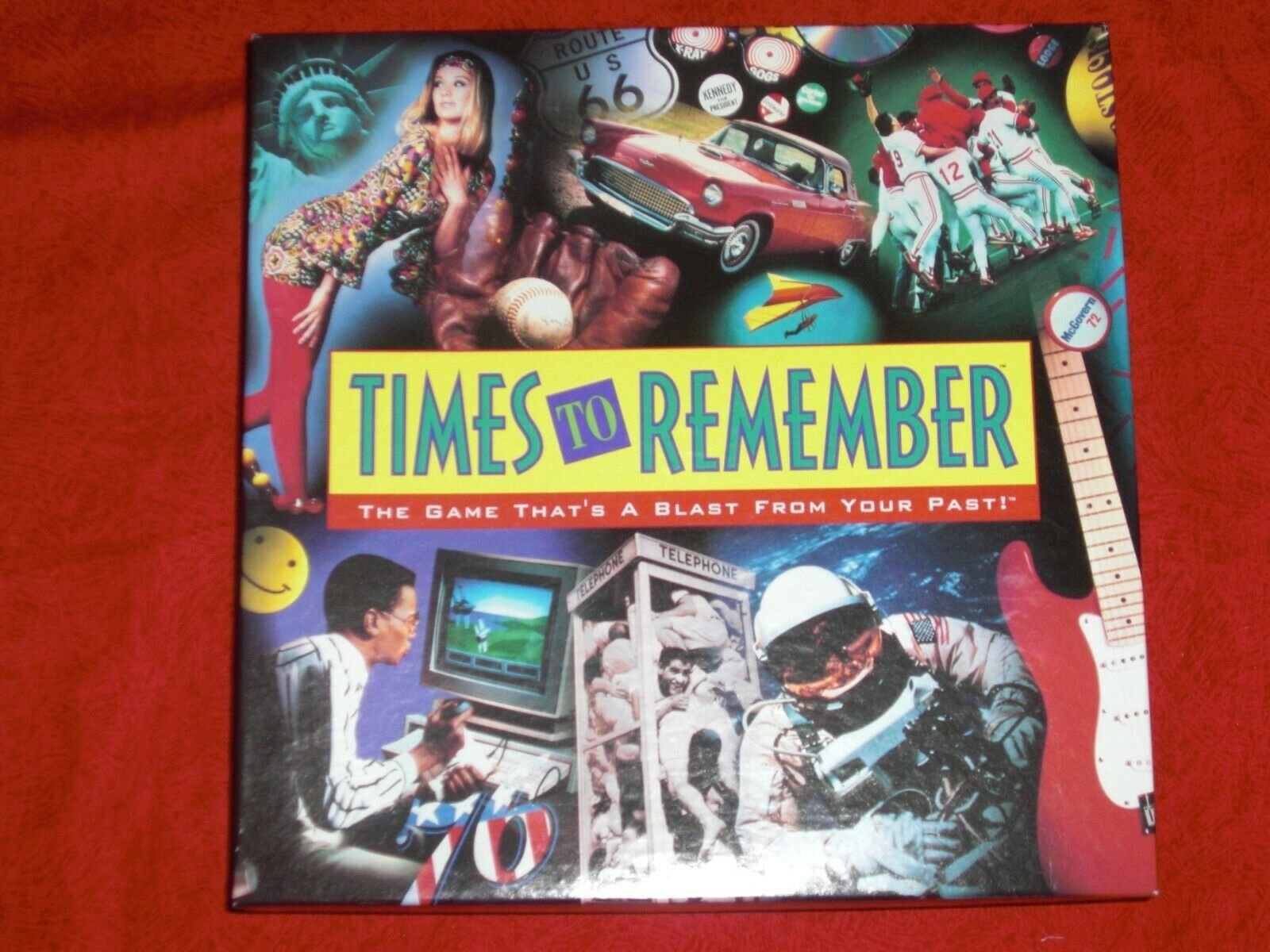 Primary image for Times To Remember Board Game Age 12-Adult 2 Or More Players Vintage 1991 New