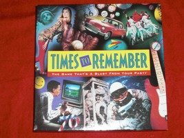 Times To Remember Board Game Age 12-Adult 2 Or More Players Vintage 1991... - $22.99