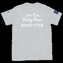 George Washington T-shirt / Betsy Ross T-Shirt / Front, back and sleeves print image 5