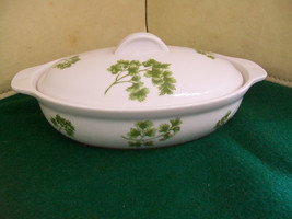 Vintage Andrea by Sadek Pasley Oven to Table Cookware Lided 1/2Qt.Casser... - $13.10