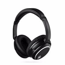 JAZZA Active Noise Canceling Bluetooth Wireless Headband Headphones - Black - $49.00