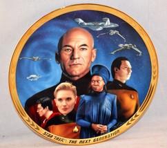 STAR TREK Next Generation Hamilton Collection Plate - Yesterday's Enterp... - $19.99