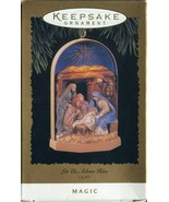 Vintage Hallmark Keepsake Christmas Ornament - Let us Adore Him - Light ... - $5.34