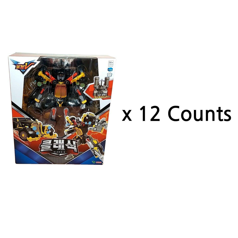 Tobot V Classic 12 Counts Set Transformation Action Figure Robot Toy Wholesale