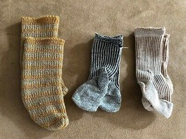 Socks set 3 pair American Girl Kirsten doll Pleasant Co clothing accesso... - $34.50