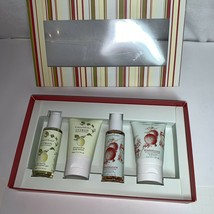 Crabtree & Evelyn 4 pc Gift Box Set Citron Pomegranate Lotions Shower Ge... - $18.10