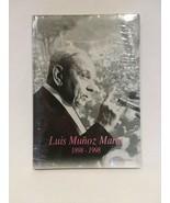 LUIS MUNOZ MARIN 1898 - 1998 TERESITA SANTINI - HARD COVER BOOK - FREE S... - $46.74