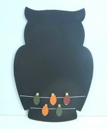 """Zest Gardens 13 3/4"""" Owl Shaped Chalk Board With movable owl clips  - $17.77"""