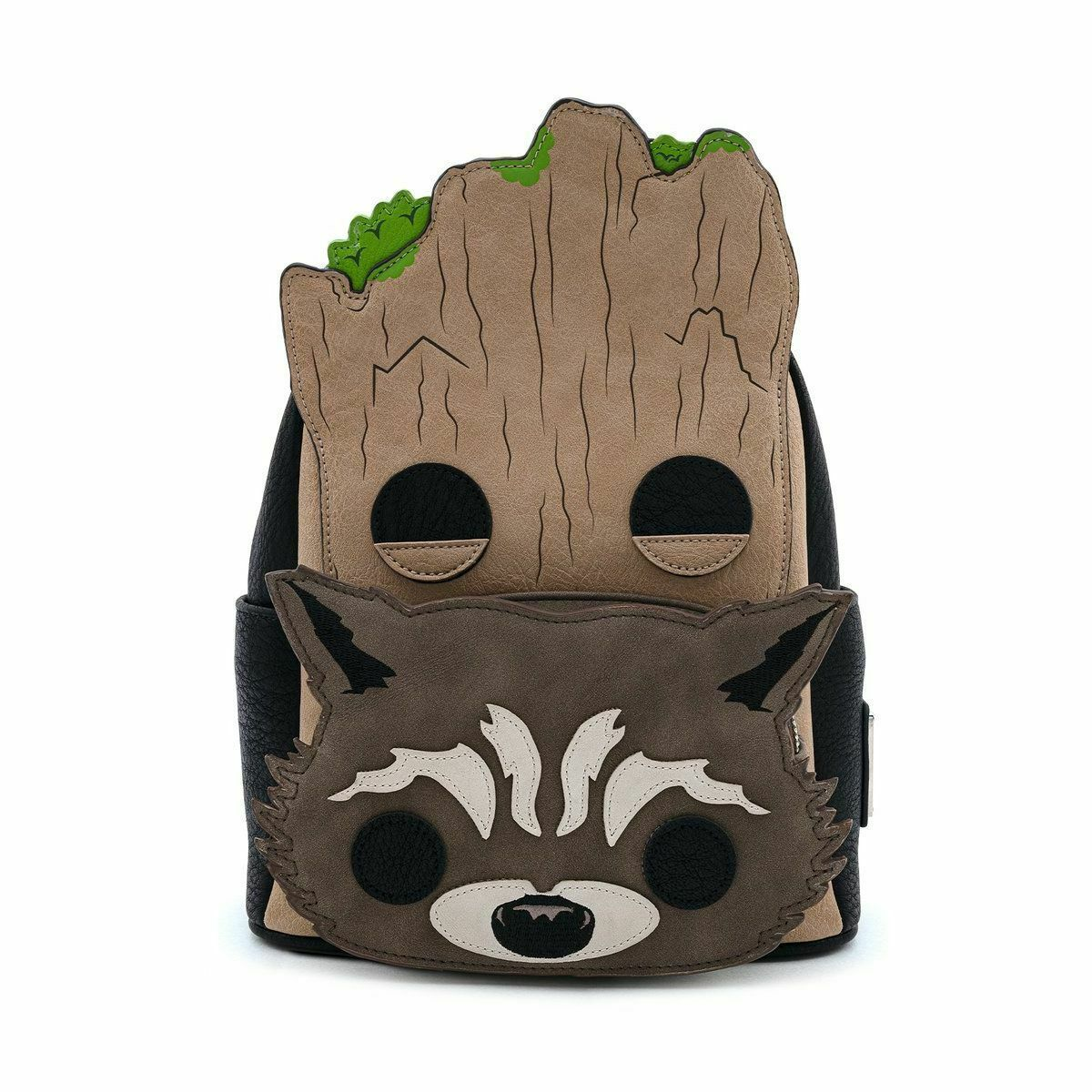 Pop by Loungefly Marvel GOTG Groot and Rocket Cosplay Mini Backpack Racksack Bag - $80.95
