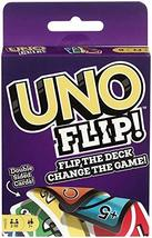 UNO FLIP! Family Card Game, with 112 Cards in a Sturdy Storage Tin, Make... - $10.90