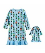 """Girl 2T-6 and 18"""" Doll Matching Nutcracker Nightgown fit American Girl D... - $16.99"""