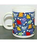 "Graduation Cap Diploma Ceramic Multicolored Coffee Mug Cup Grad Basic 4""... - £9.23 GBP"