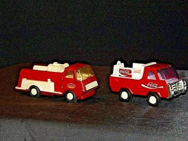 Die-cast Truck Coca-Cola and Tonka Trucks AA19-1506 Vintage image 2
