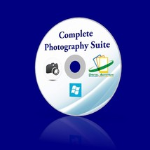 Photography Suite Photo  Digital Editing RAW JPEG Watermark Resize Panor... - $11.63
