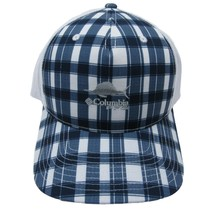 Columbia Sportswear PFG Bonehead Mesh Trucker Hat Cap Blue White One Siz... - $21.17