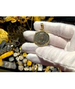 ROMAN EMPIRE CONSTANTINE II FOLLIS 337-361AD NECKLACE PENDANT TREASURE J... - $1,350.00