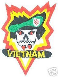 VIETNAM ARMY PATCH MACV SOG VN FIELD TRAINING COMMAND