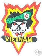 VIETNAM ARMY PATCH MACV SOG VN FIELD TRAINING COMMAND - $13.53
