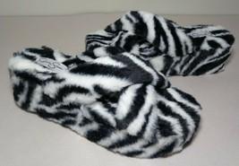 Jessica Simpson Size 6 M TALULLA Black White Slide Sandals New Women's Shoes - $88.11