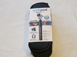 """Quikpod Pod Selfie Stick Pro Ausfahrbar 20 """" Digipower Set Hülle Wandern... - $19.28"""