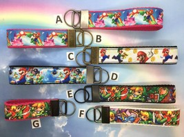 Video Game Character Key Fob, Keychain, Key Ring, Wristlet Strap, Gift f... - $3.57+