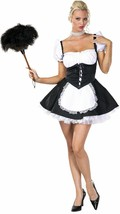 Chambermaid Adult Costume Size Medium - $21.84
