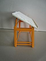 Barbie Multi-position DRAFTING TABLE School Dream House Dollhouse Furniture - $8.95