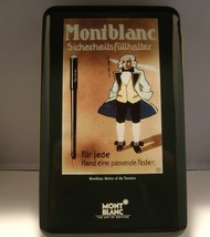 Montblanc metal box EMPTY BOX ! Really rare Mont Blanc BOX mint - $94.22