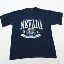 Vintage Jansport T-shirt XL Big Sky Champs University Of Nevada Datum 91 - $28.75