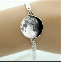 moon phase cabochon bracelet - $10.00