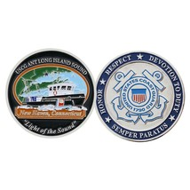 "COAST GUARD ANT LONG ISLAND SOUND NEW HAVEN 1.75"" CHALLENGE COIN - $17.14"