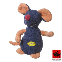Multipet Deedle Dude Musical Interactive Plush Mouse Dog Toy 8 inch - £13.06 GBP
