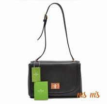 kate spade Crossbody Black Bag Leather Nwt New Handbag Shoulder Purse - $119.00