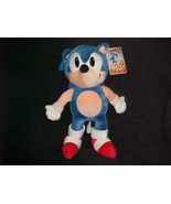 """14"""" Sonic The Hedgehog Plush Stuffed Toy With Tags By Caltoy 1993 Sega - $93.49"""