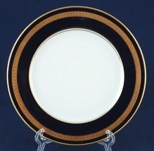 """Rosenthal Eminence 7.75"""" Salad Plate Cobalt Gold Laurel Bands 5107 9 New - $22.00"""