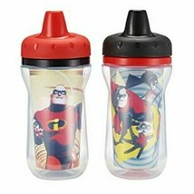 The First Years 2 Piece Disney/Pixar Incredibles 2 Insulated Sippy Cups - $14.85