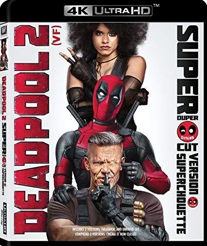 Deadpool 2 The Super Duper Cut (4K Ultra HD+Blu-ray, 2018)